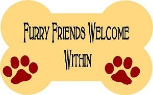 Furry Friends Welcome