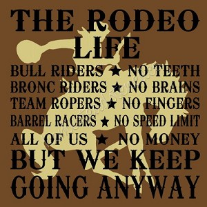 The Rodeo Life (2pc) Overlay