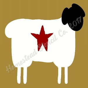 Sheep  with star