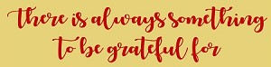 There is always something to be grateful for  Stencil- Reusable Sign Stencils -  8828
